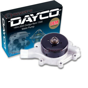 Dayco Water Pump For Dodge Ram 1500 1994 2003 5 2l 5 9l V8 Engine Tune Up Gj