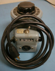 Powerstat Variable Autotransformer 3pn116b 50 50 1ph 0 140v 10a