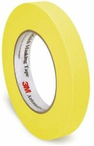 3m Automotive Refinish Masking Tape 06652 18 Mm X 55 M Yellow 60 Yards