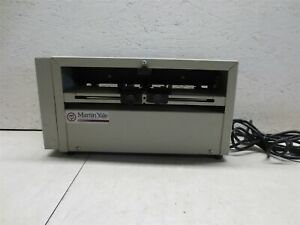 Martin Yale Sp100 Desktop Score And Perforating Machine Tested