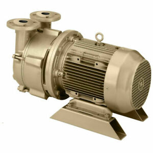 New Dekker Liquid Ring Vacuum Pump 35 Acfm 3hp