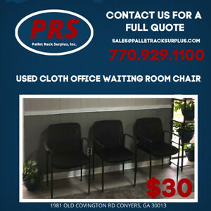 Used Cloth Office Waiting Room Chair