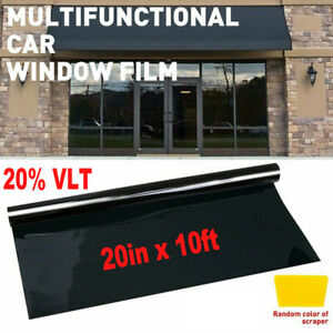 Uncut Window Tint Roll 35 Vlt 20 In 10ft Feet Home Commercial Office Auto Film