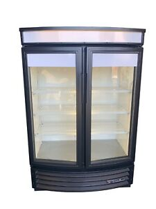 True Gdm 35 sl rf 2 door Merchandiser Cooler Refrigerator Free Shipping