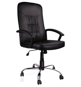 Ergonomic Leather Executive Office Chair Free Shipping