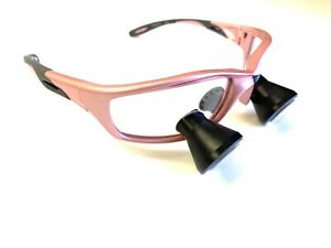 2 5x Loupes Pink Ttl Loupe Comes With Wire Clips For Orascoptic Surgitel