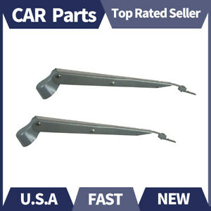 Front Windshield Wiper Arm 2 X Anco For Dodge 1957 1990
