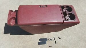 1993 Chevrolet Blazer Center Floor Console maroon