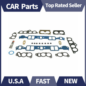 Fel pro Ms93318 Gaskets Manifold Intake Stock Port For Chevy Corvette Tpi 5 7l