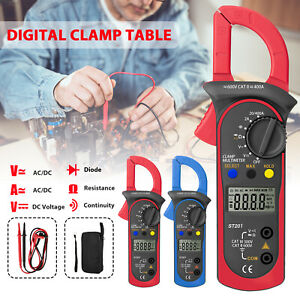Digital Multimeter Tester Ac Dc Volt Ohm Amp Clamp Meter Auto Range Current Lcd