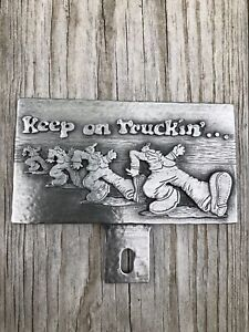 Keep On Truckin License Plate Topper