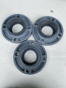 Lot Of 3 New Charlotte 3 Pvc Flanges 150 Psi Schedule 80 854 030