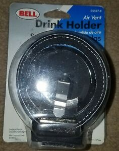 1 Black Air Vent Cup Holder Drink Beverage Adjustable Car Auto Truck Rv Holders