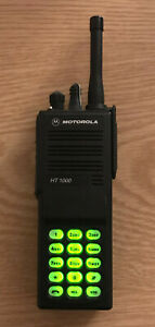 Motorola Ht1000 Uhf 403 470 Mhz 16 Channel Radio Narrowband Dtmf Keypad