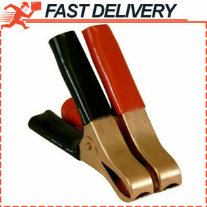 Heavy Duty Jumper Cables Boost Clamp Car Battery Charger Clamps 50 Amp pair