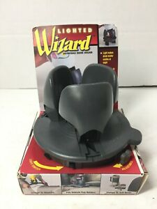 1999 Lighted Wizard Adjustable Cup Drink Holder Gray Vehicle Clamp Holds 64 Oz
