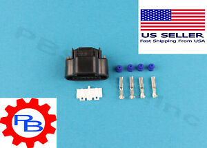 4 Pin Connector Housing Qty 1 For Toyota Lexus Distributor Ignition Coil