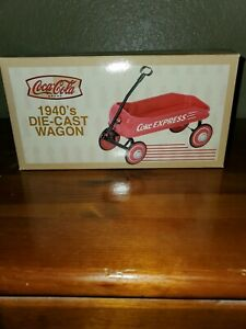 NEW Xonex Coca Cola 1940s Die-Cast Express Little Red Wagon