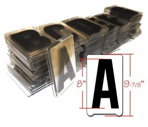 Sign Letters Set Of 8 Changeable Sign Letters On 9 7 8 Panels