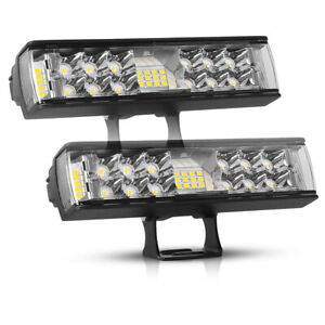 2x 6inch 860w Led Work Light Bar Spot Combo Offroad Atv Fog Truck Lamp 4wd 7