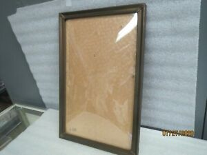 Antique Picture Frame10 5 X 16 Outside 9 X 14 5 Inside With 1 Convex Glass