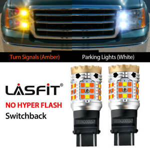 Switchback 3157 Led Front Turn Signal Fit For Gmc Sierra 1500 2009 13 Error Free