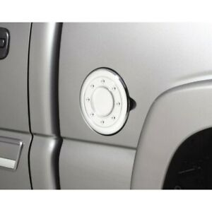 688771 Ventshade Fuel Door Cover Gas New Chrome For F150 Truck Ford F 150 04 08