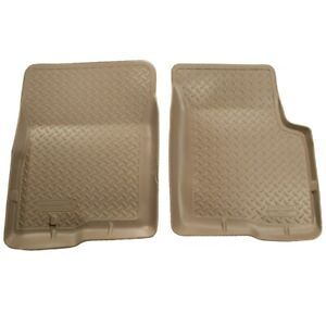 35453 Husky Liners Floor Mats Front New Tan For Toyota Tacoma 2001 2004