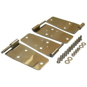 Rt34008 Rt Off Road Door Hinges Set Of 4 Front New For Jeep Wrangler Cj7 Cj5