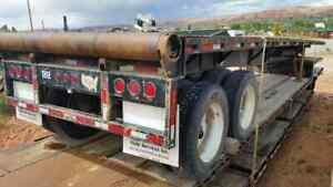 2008 Wade T a Flatbed Trailer