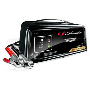 Schumacher Sc1361 2amp Fully Automatic Battery Charger Engine Starter