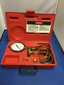 Snap On Tool Fuel Pressure Gauge Mt337 W case
