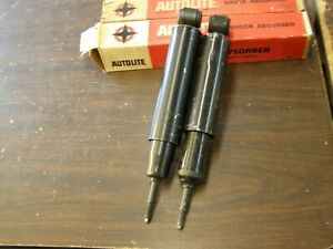 Nos Oem Ford 1960 1964 Galaxie 500 Rear Shocks 1961 1962 1963 Xl Ltd 1959