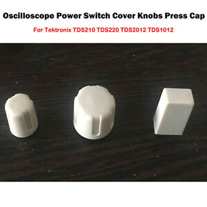 For Tektronix Tds210 Tds220 Tds1012 Tds2024 Oscilloscope Power Switch Knobs Part