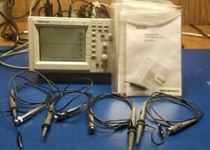 Tektronix Tds 224 100mhz 4 Channels With Probes Free Shipping