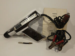 Penske Sears Vintage Dc Inductive Timing Light 244 2115 Manual Box
