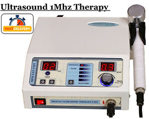 New Ultrasound Therapy 1mhz Machine Pain Relief Chiropractic Pulse Lowest Price