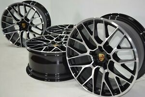 20 Porsche Macan Factory Oem Rs Spyder 20 Authentic Wheels Rims Rare