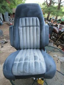 1988 94 Chevy Gmc Truck Suburban Tahoe Yukon Lh Blue Power Bucket Seat