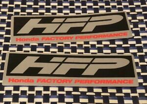 Hfp Racing Stickers Decals X2 1 5x5in Honda Off Road Drift