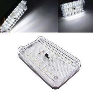 36 Led Car Vehicle Interior Dome Roof Ceiling Reading Trunk Light Lamps 12v
