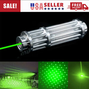 Green Laser Pointer Pen 650nm 1mw Burning High Power Beam Light Usa