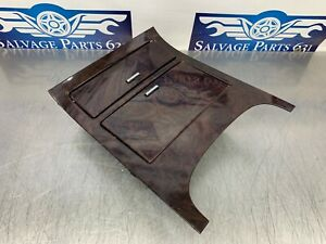 2007 Cadillac Escalade Oem Chocolate Wood Grain Console Cup Holers Ash Tray