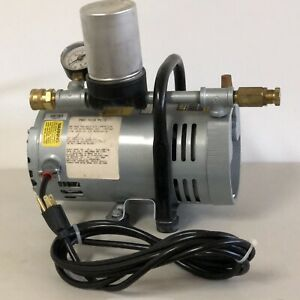Gast Ambient Air Pump Pro tech Compressor 1 3 Hp 115v 1 Ph Brand New Old Stock