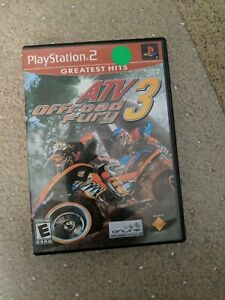ATV OFFROAD FURY 3 game complete in case w/ manual for Playstation 2 PS2