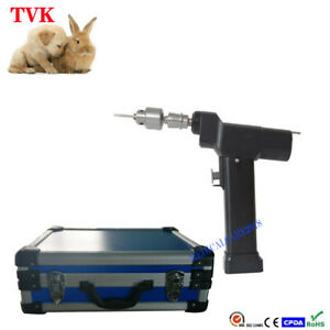 Portable Veterinary Cannulated Drill electric Surgical Orthopedic Instruments