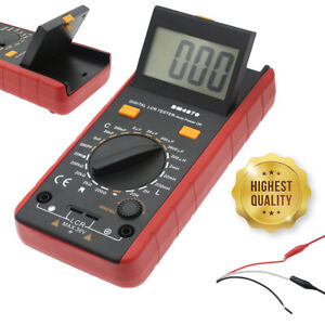Quality Lcr Meter Self discharge Resistance Capacitance Inductance Tester clips