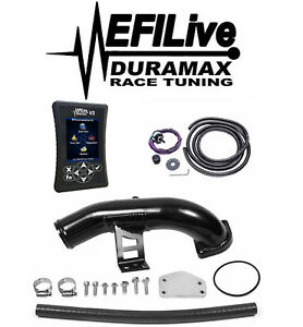 Chevy Gmc Duramax Lly 6 6l 2004 5 2005 Egr Delete Kit Efi Live Tuner Dsp5 Chip