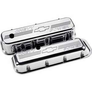 Billet Specialties Bbc Tall Chevy Power Valve Covers Polished 96122