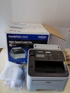 Preowned Brother Intellifax Fax2840 High speed Laser Fax Machine